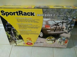 Sport Rack Trunk Mount Bike Carrier/ Stealth Bike Frame Adapters