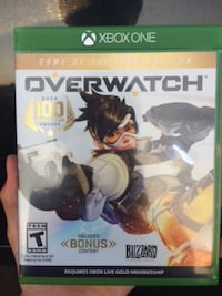 Overwatch game of the year edition. Xbox one Duluth, 55811