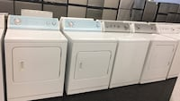 White washer and dryer set- Delivery and 1 year warranty  Toronto, M3J 3K7