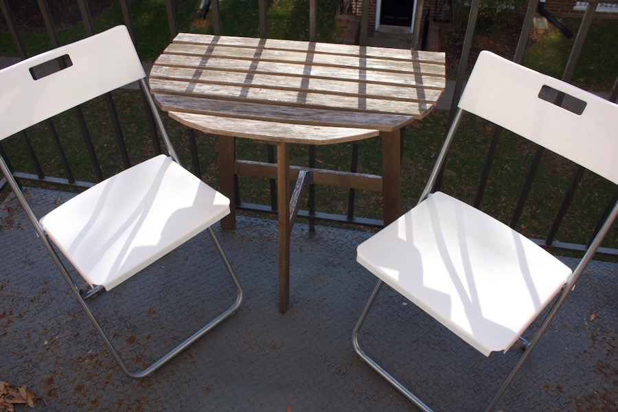 used outdoor patio table with chairs for sale in alexandria letgo rh us letgo com Patio High Table and Chairs Patio High Table and Chairs