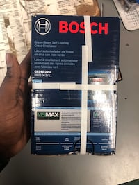 Laser Level, Tools-Power Bosch BC Abrams new in box .. Negotiable  Baltimore, 21217