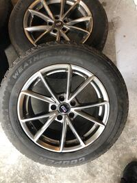 Cooper winter tires with 17 inch rims