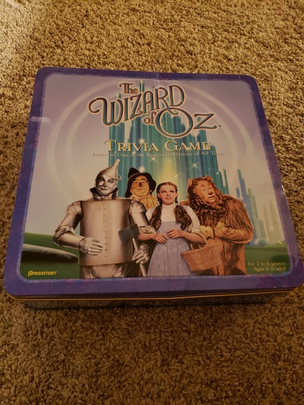 The Wizard of Oz Trivia Game 0