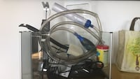 5 gal fish tank - everything but the fish
