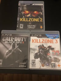 three PS3 game cases and one game case Edmonton, T5P 2P3