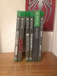Xbox One Games Lot New York