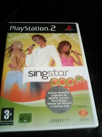 PS2 SingStar pop Barcelona, 08002