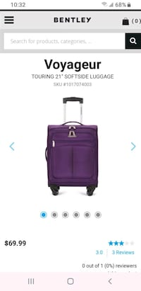 "NEW Voyageur  TOURING 21"" carry-on luggage   Brampton, L7A 0R3"
