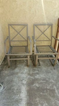 brown metal chair frames Anaheim, 92801