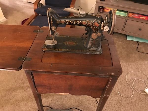 Used Antique Singer Sewing Machine For Sale In Philadelphia Letgo Magnificent Antique Singer Sewing Machines For Sale