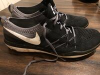 Nike free running shoes (size 10)