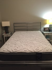 Firm double mattress, box spring and bed frame Chilliwack, V2R 0Y2