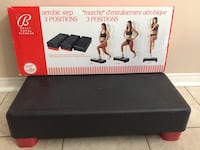 Bally total fitness 3 position aerobic step Bolton, L7E 1X7