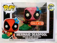 Funko Pop Custom Glitter Mermaid Deadpool Modesto, 95357