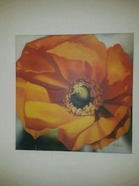 red and yellow flower painting Minneapolis, 55441