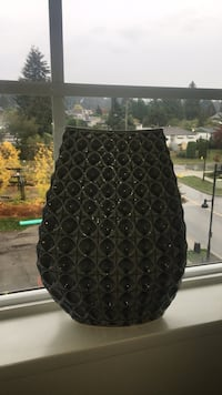 Grey vase from urban barn  Coquitlam, V3J 0B6