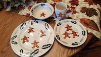 Gingerbread dinnerware set Martinsburg, 25401