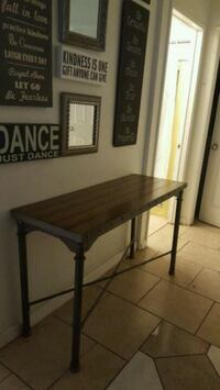 Console entry table