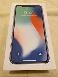 IPhone X 256GB UNLOCKED.!  Laurel, 20707