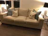Upholstered Couch and Loveseat Set