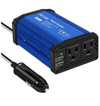 300W Power Inverter, DC 12V to 110V AC Car Inverter with 4.8A Dual USB Charging Ports  North Brunswick, 08902