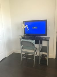 Desk and TV Combo