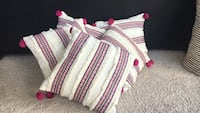 white, pink, and blue striped textile Apex, 27523