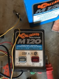 Gallagher M120 Power Fence Energizer Spruce Grove, T7X 4H4