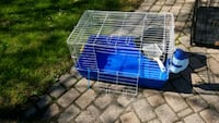 Small animal cage with litter box and scoop water Southfield, 48076
