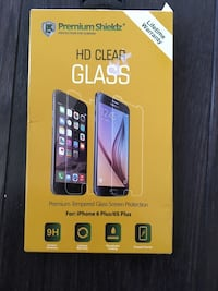 Hd clear Clear glass protection for iPhone 6 Plus and 6plus s