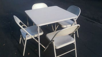 Folding Card Table with Chairs