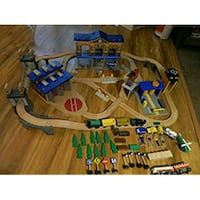 Imaginarium city center train tracks, 100+ pieces