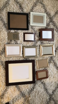 Assortment of picture frames Toronto, M4M