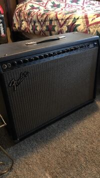 black and gray Fender guitar amplifier Charlotte, 28214