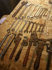 Vintage USA  Automotive and Monkey Wrenches