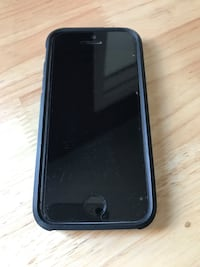 black iPhone 5 with black case Thunder Bay, P7E 4Y9