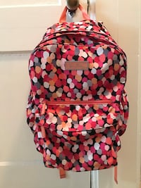 red, white, and black backpack Perry, 31069