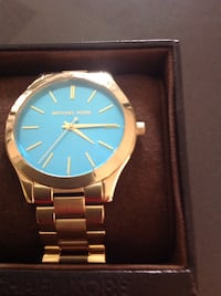 Mkors watch withhold &  blue inside large size $75 San Antonio, 78258