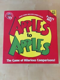 Apples to Apples the game of hilarious comparisons! Card game