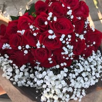 Personalized Red Rose Bouquet gift Lynwood