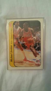 Michael Jordan rookie fleer Houston, 77078
