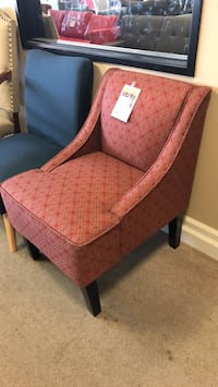 brown and red fabric sofa chair Phoenix, 85018