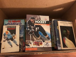 A box of books for 3$