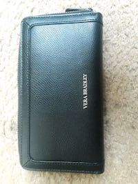 black leather Vera Bradley wallet 20 km