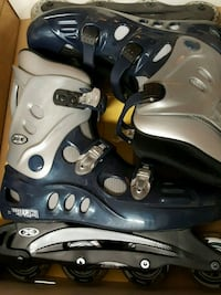pair of black-and-gray inline skates Lancaster, 14086