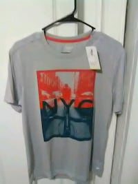 Gray red and blue NYC t-shirt for men Hagerstown, 21740
