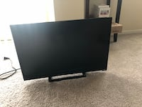 24' Vizio Smart TV with remote with mount