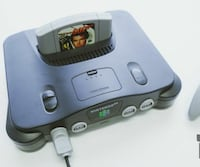 Nintendo 64 with one game