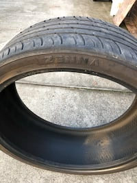 Zenna used tire 305/30/26 Augusta