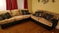 Ashley Sofa and Loveseat Bowie